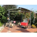 Grillpavillon Barbecue XXL 275x165 cm