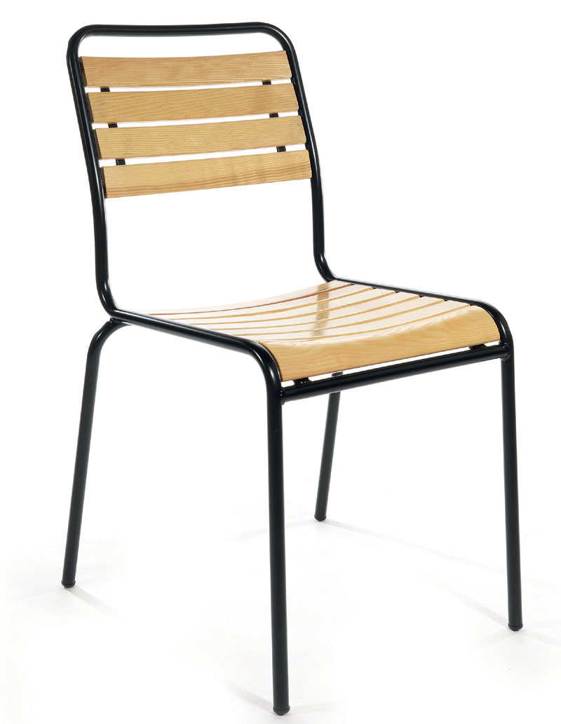holz metall gartenstuhl rigi schaffner holz metall. Black Bedroom Furniture Sets. Home Design Ideas