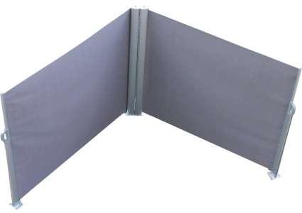 doppel seitenmarkise m nchen ausziehbar 3 m anthrazit leco. Black Bedroom Furniture Sets. Home Design Ideas