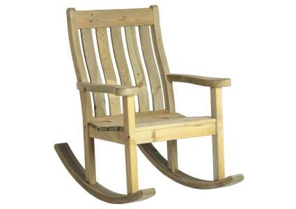 Garten schaukelstuhl farmers rocking chair von alexander for Rocking chair schaukelstuhl