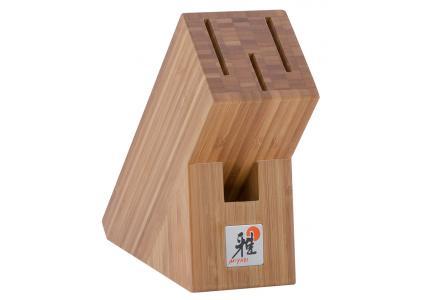 messerblock miyabi aus bambus von zwilling zwilling. Black Bedroom Furniture Sets. Home Design Ideas