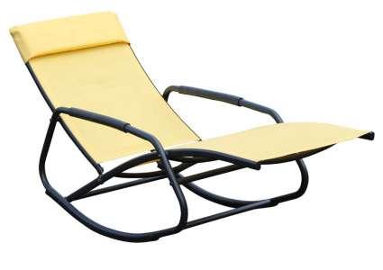schaukelsessel darvina gelb leco. Black Bedroom Furniture Sets. Home Design Ideas