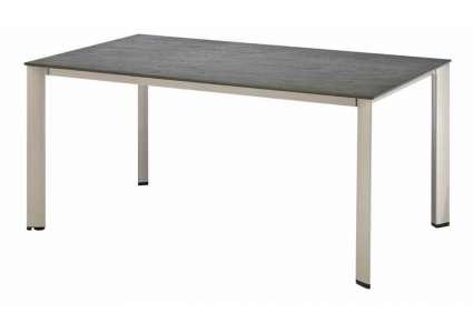 kettler balkon lofttisch 160x70 cm silber schieferoptik kettler. Black Bedroom Furniture Sets. Home Design Ideas
