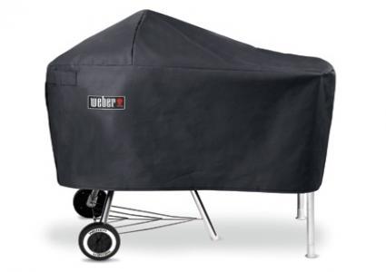 weber abdeckhaube premium f r bbq 47 57 mit arbeitstisch kettlermate weber aktionen. Black Bedroom Furniture Sets. Home Design Ideas
