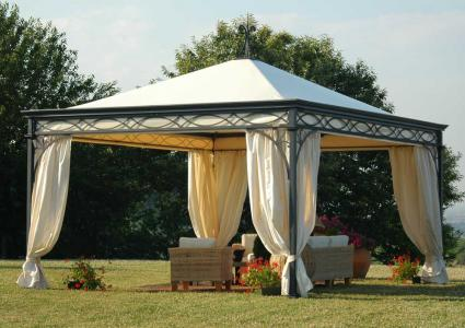 pavillon pavillon malatesta 4x4 m pavillon unosider. Black Bedroom Furniture Sets. Home Design Ideas