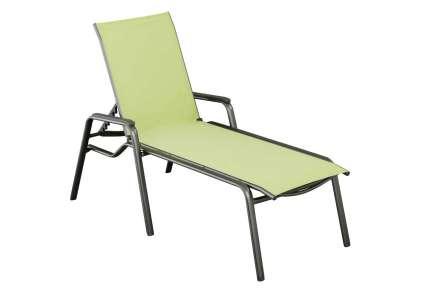 kettler gartenliege cirrus anthrazit wasabi kettler. Black Bedroom Furniture Sets. Home Design Ideas