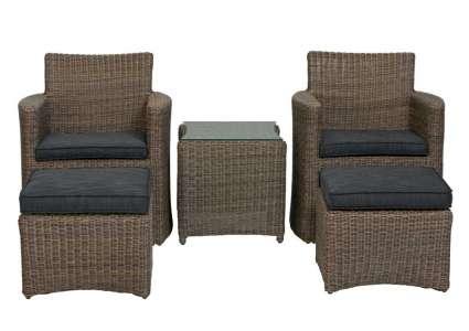 geflecht sitzgruppe cupido rattan kettler kettler. Black Bedroom Furniture Sets. Home Design Ideas
