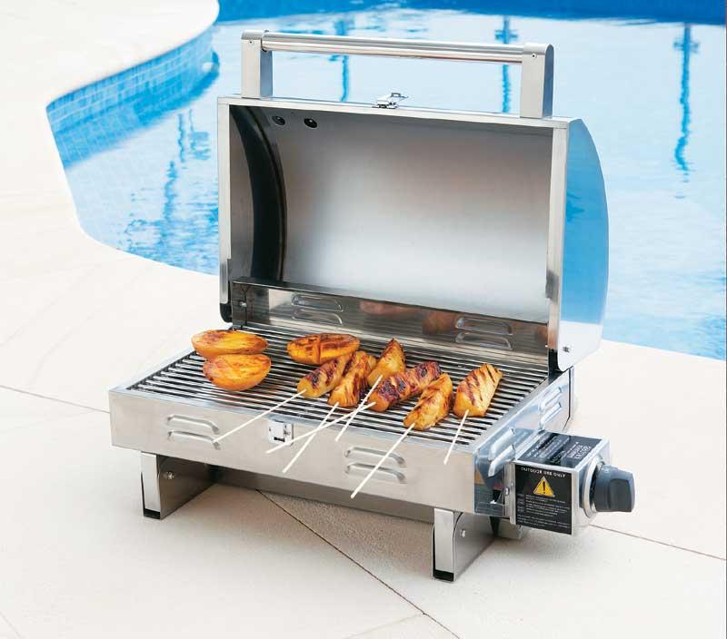 tisch gasgrill grillstation b t. Black Bedroom Furniture Sets. Home Design Ideas