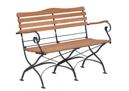 gartenbank m nchen 130 cm von karasek karasek. Black Bedroom Furniture Sets. Home Design Ideas