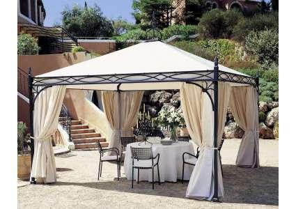 pavillon novecento 300x300 cm unosider unosider. Black Bedroom Furniture Sets. Home Design Ideas