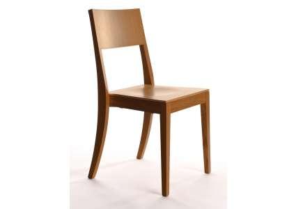 holzstuhl osiris eiche ohne polster manufakt manufakt. Black Bedroom Furniture Sets. Home Design Ideas