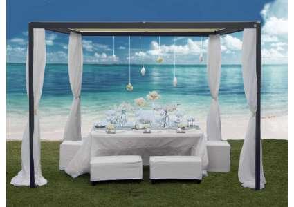 pavillon resort 300x400 cm von unosider unosider. Black Bedroom Furniture Sets. Home Design Ideas