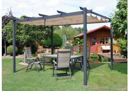 pavillon padua 3x4m leco. Black Bedroom Furniture Sets. Home Design Ideas