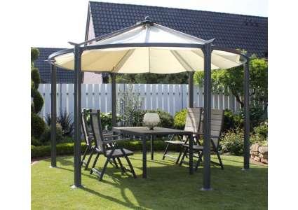 pavillon cirkulus rund 360 cm leco. Black Bedroom Furniture Sets. Home Design Ideas