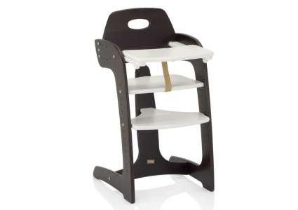 hochstuhl tipp topp comfort braun weiss von herlag herlag. Black Bedroom Furniture Sets. Home Design Ideas