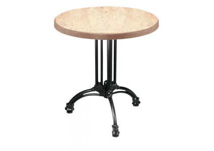 bistrotisch bistrotisch jerez 3 rund 60 cm werzalit von mazuvo bistrotisch mazuvo swiss. Black Bedroom Furniture Sets. Home Design Ideas