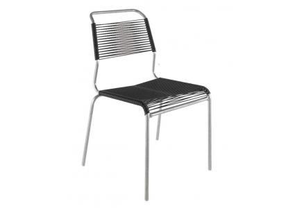 spaghetti stuhl de luxe ohne armlehnen von schaffner schaffner. Black Bedroom Furniture Sets. Home Design Ideas