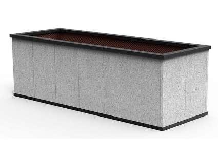 Sager Hochbeet Granit 245x85 Cm Sager
