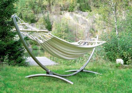 h ngemattengestell alpha mit doppel h ngematte chico. Black Bedroom Furniture Sets. Home Design Ideas